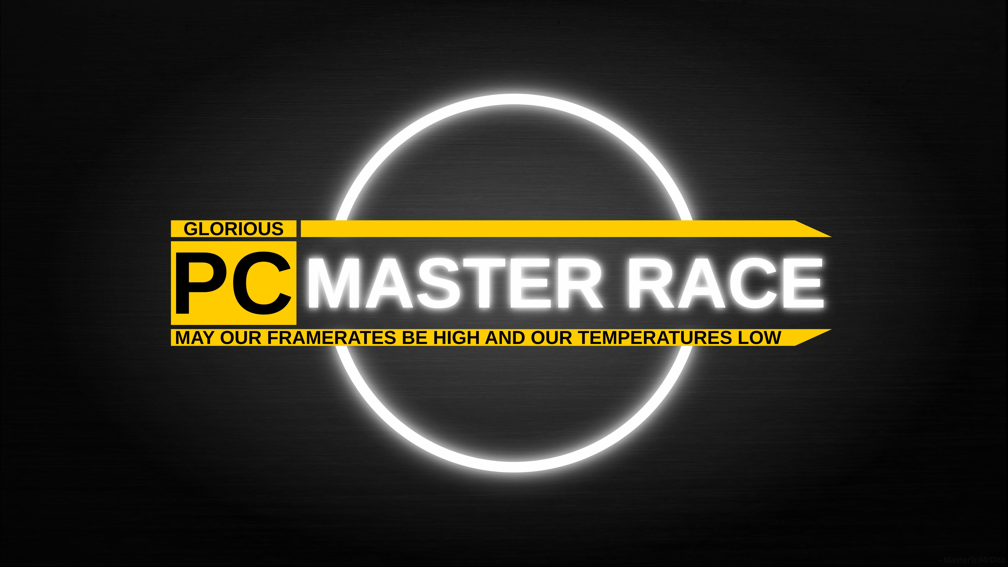 3840x2160 Pc Master Race Wallpapers Fixed Racing Wallpaper