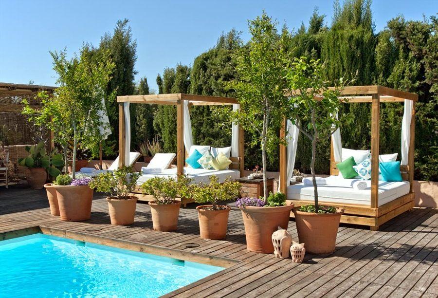 jardins rusticos com piscina foto piscina y jardn de anna gaya 899541 habitissimo - Piscinas Jardin
