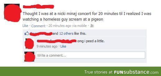 Watching Nicki Minaj