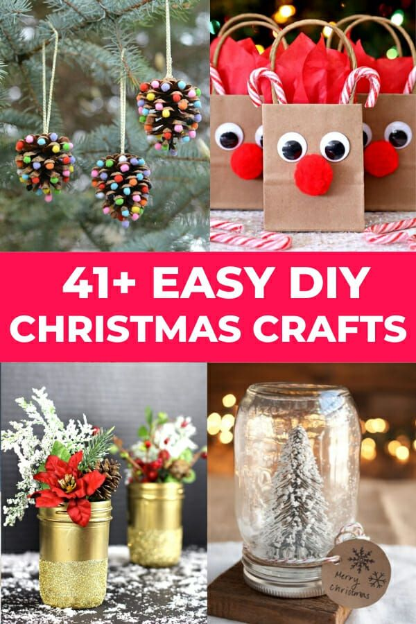 50 Easy Diy Christmas Crafts For Adults To Make And Sell This Year In 2020 Homemade Christmas Crafts Easy Christmas Diy Christmas Crafts For Adults