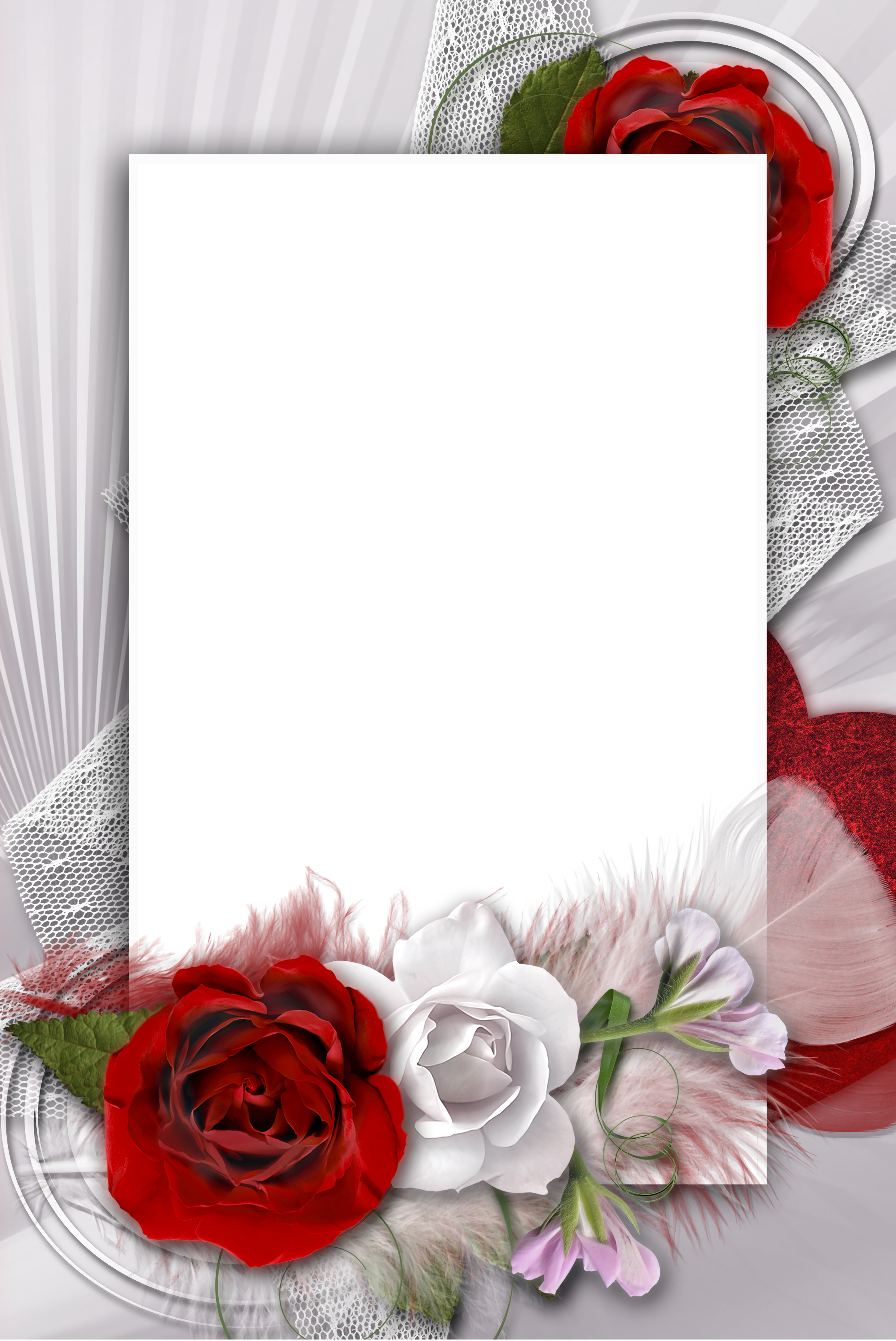 Pin By Uuo U Uouo On 3d Randen En Achtergrond Romantic Frame Flower Frame Floral Border Design
