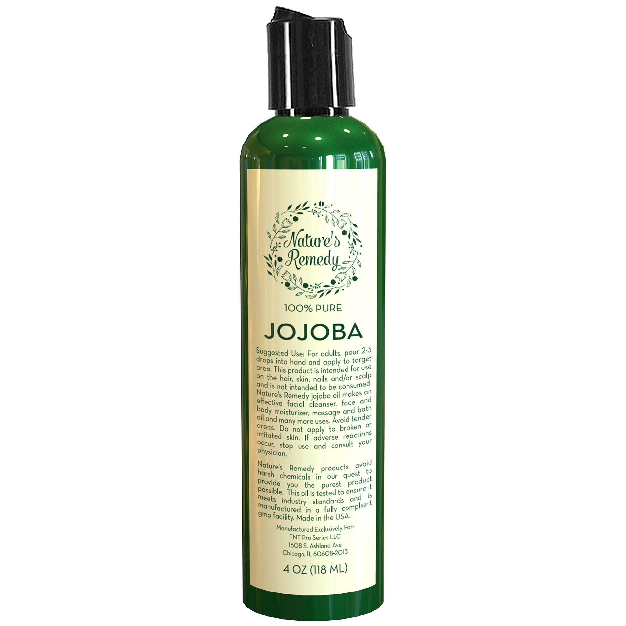 Jojoba Oil for Hair and Skin 100 Percent