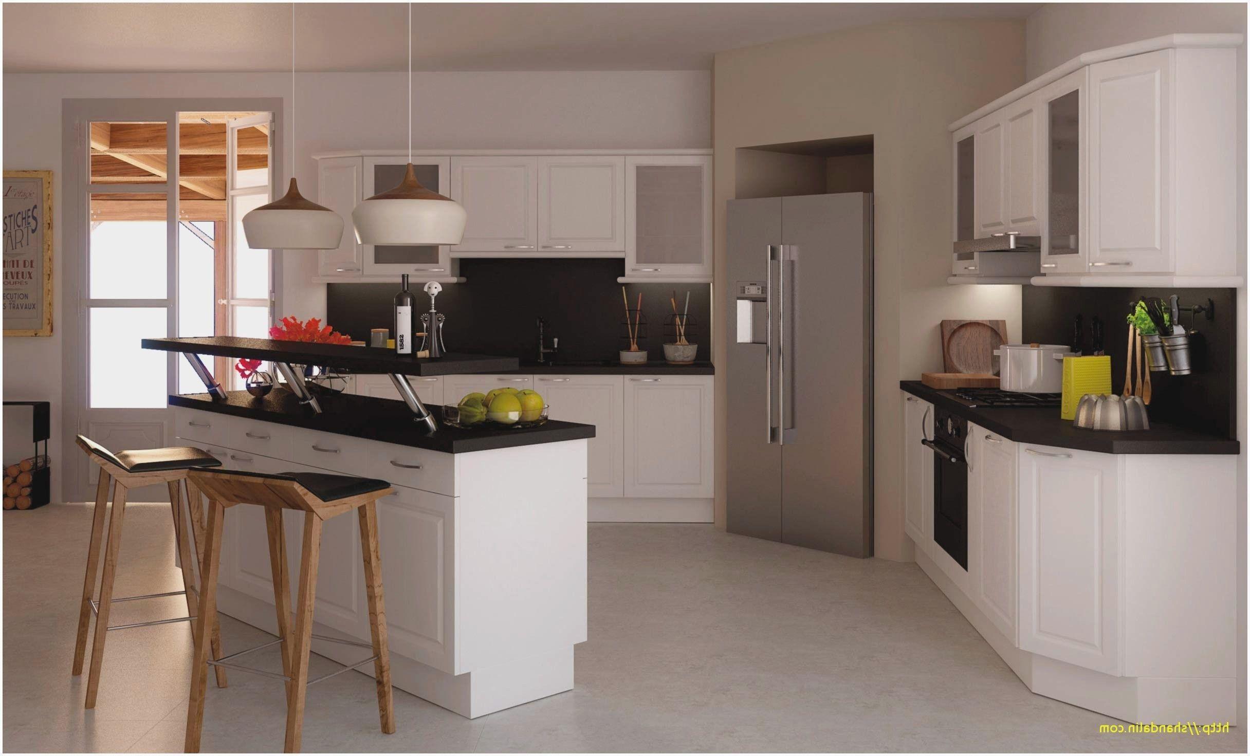 Luxury Modele Cuisine Avec Ilot   Open kitchen, Kitchen, Home decor