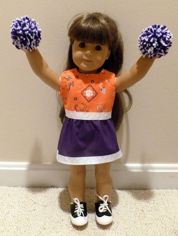American Girl doll clothes cheerleader Clemson by OffTheHookbyLora, $16.00 #18inchcheerleaderclothes American Girl doll clothes cheerleader Clemson by OffTheHookbyLora, $16.00 #18inchcheerleaderclothes American Girl doll clothes cheerleader Clemson by OffTheHookbyLora, $16.00 #18inchcheerleaderclothes American Girl doll clothes cheerleader Clemson by OffTheHookbyLora, $16.00 #18inchcheerleaderclothes