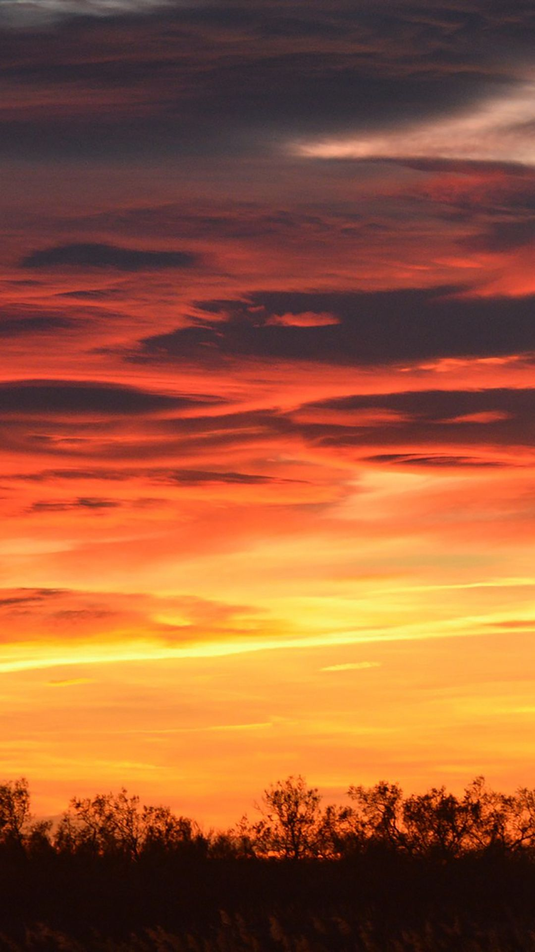 Cloudy Bright Sunset Sky View Iphone 6 Wallpaper Sunset Sky Sky View Iphone 6 Wallpaper