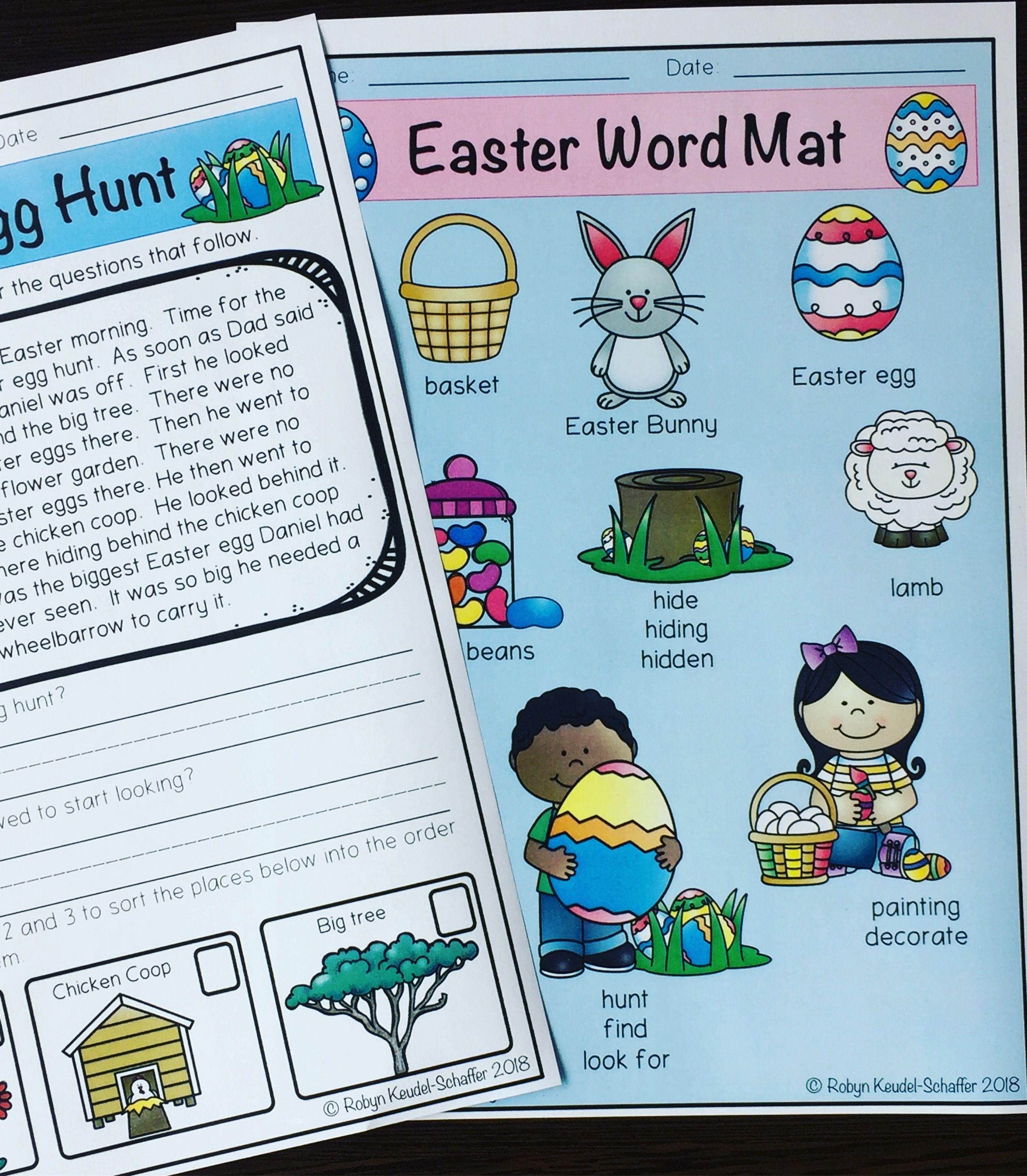 Easter Reading and Writing Set | Reading comprehension, Worksheets ...