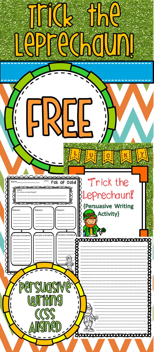 FREE St. Patrick\'s Day writing activity. 3-6 grades. | Teaching ...