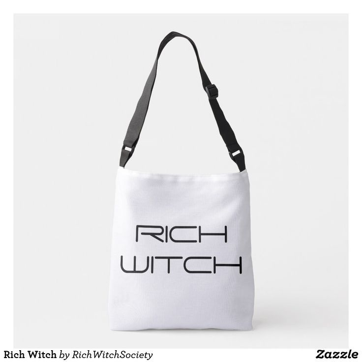 Manifest your money desires and become rich within your wildest dreams with this Rich Witch bag to remind you of your witch power.  A witch queen, powerful creatrix, beautiful witch, female witch - and you need the latest in witch fashion, striking witch apparel to remind you of the rich witch coven that you belong to.   #witchbag #witch #witchapparel #witchshop #witchlife  This is an affiliate link