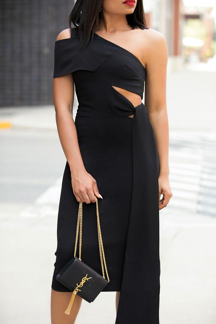 How To Wear Black To Summer Wedding Fashion Curvy Fashion Fashion Dresses [ 1350 x 900 Pixel ]