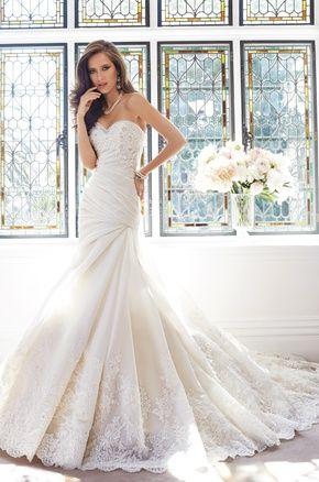 Sophia Tolli - Y21439 - Fall 2014 | #1 bridal gowns | Pinterest ...