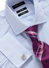Austin Reed Menswear Check Formal Shirts Austin Reed Shirts Double Cuff Shirts