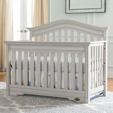 Bonavita Westfield Convertible Crib in Linen Gray - Click to enlarge ...
