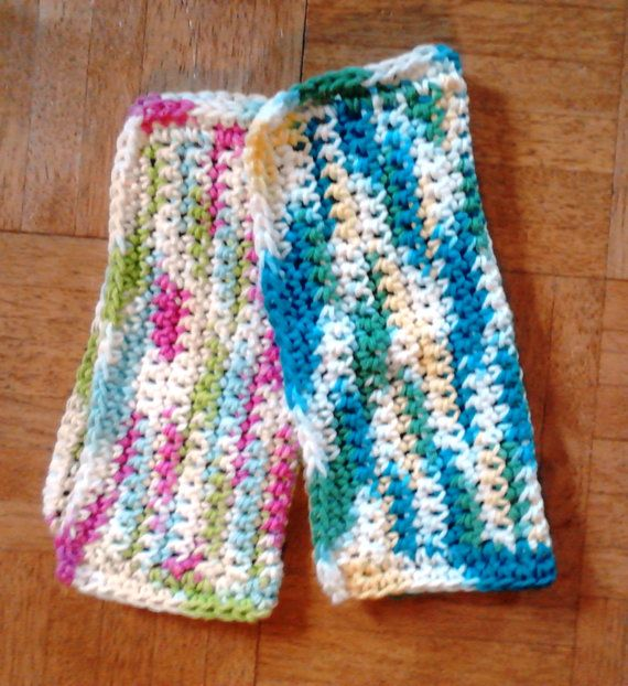 Crocheted Dish or Wash Cloths by DMStitches on Etsy, $7.99
