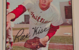 I will sell my 1967 Rick Wise Topps #37 for $2.00