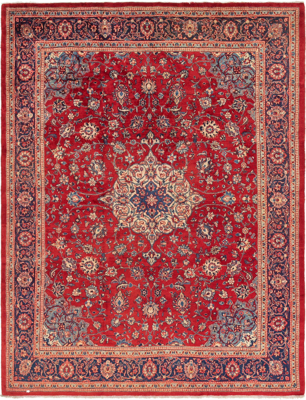 10 X 13 Farahan Persian Rug Persian Rug Antique Persian Rug Rugs