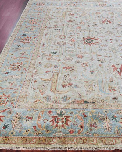 Hb7tg Exquisite Rugs Haylane Oushak Hand Knotted Rug 6 X 9