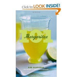 "It's National Margarita Day! In celebration, take a look at this book with 101 marg recipes--gah! I'd love one of them now... Margaritas put the ""happy"" in happy hour."