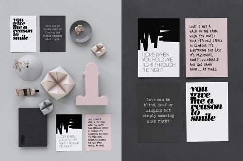Therese Sennerholt's new postcards via elv's