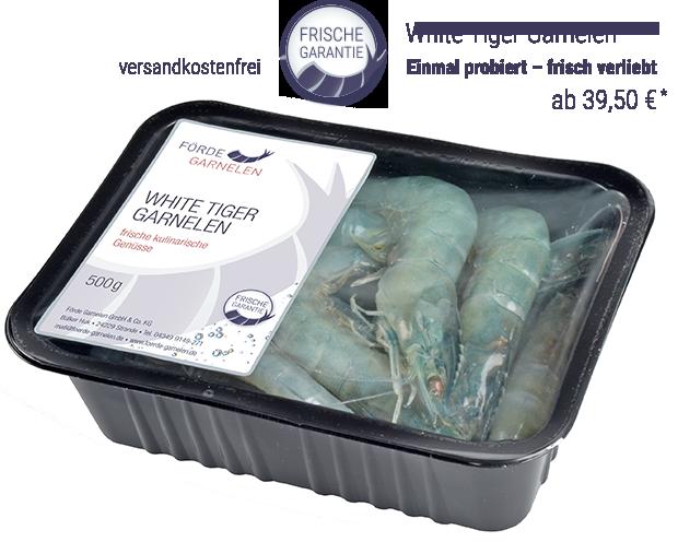 White Tiger Garnelen