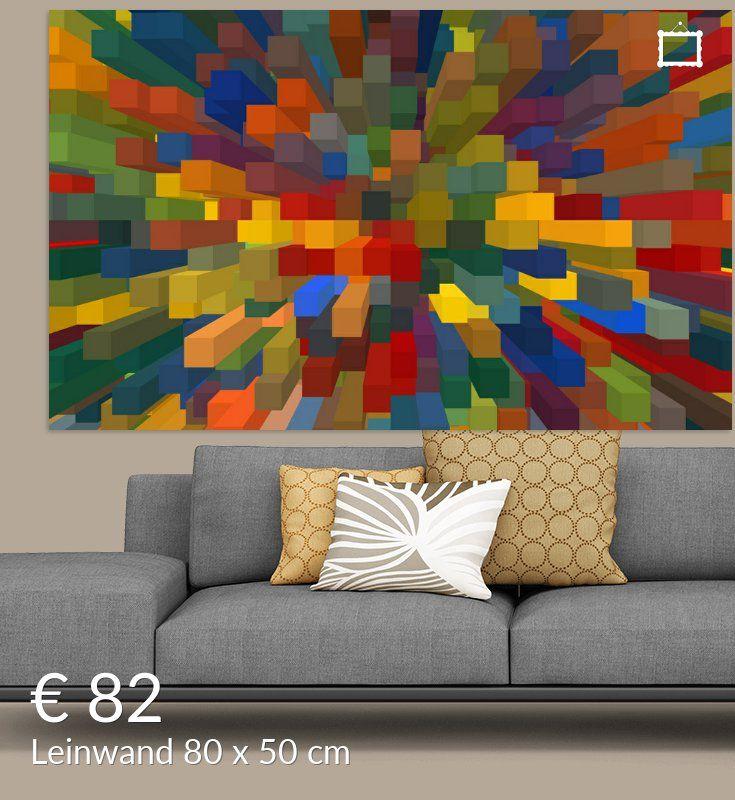 Blocks Iv Poster Marion Tenbergen Kunstdrucke Auf