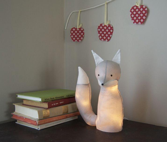 Créer un luminaire original pour une chambre d\u0027enfants Foxes