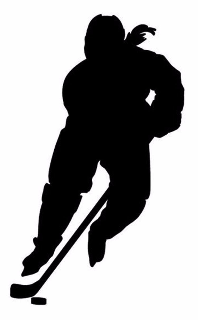Hockey Girl Silhouette1 Hockey Girls Hockey Girl Hockey Players
