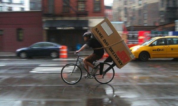 Bike Messengers Battle Uber S Courier Service The Village Voice