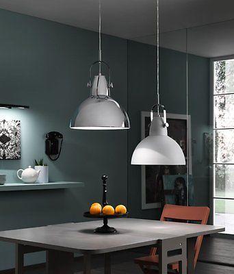 Lampada industrial vintage a sospensione in casa for Bricolage arredamento