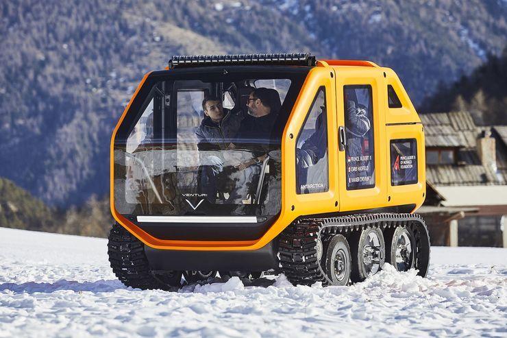Venturi Antarctica: Schneemobil mit Elektroantrieb