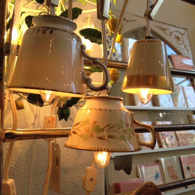 Precious Tea cup lights!