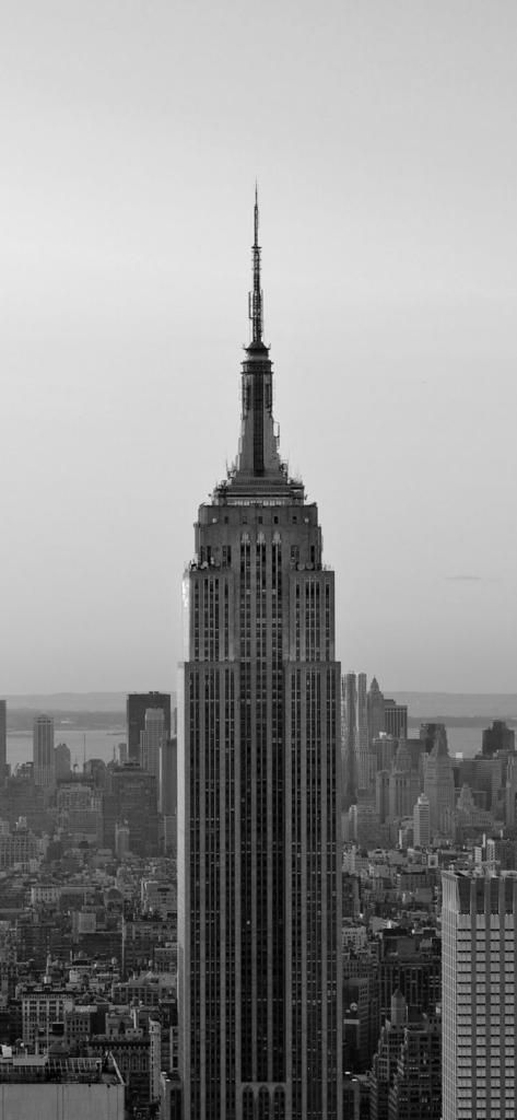 Gray New York Skyline City Iphone X Wallpaper Hd Awesome