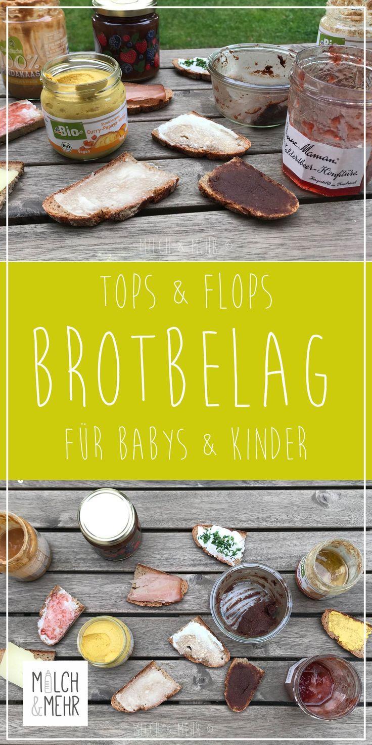 Tops und Flops: Brotaufstrich für Kinder | Milch & Mehr