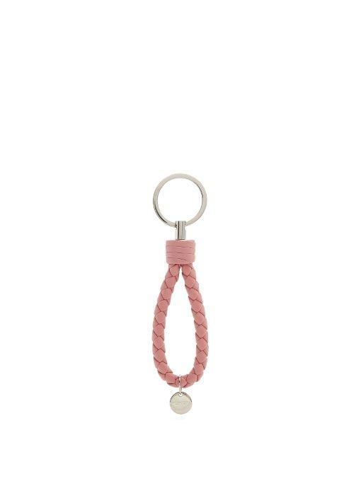 Bottega Veneta Knot Key Ring in Neutrals ceqPsVoI