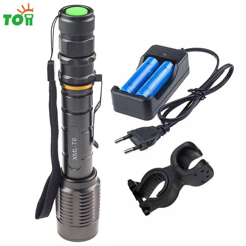 Cree xml T6 Led Working Lamp Rechargeable Portable