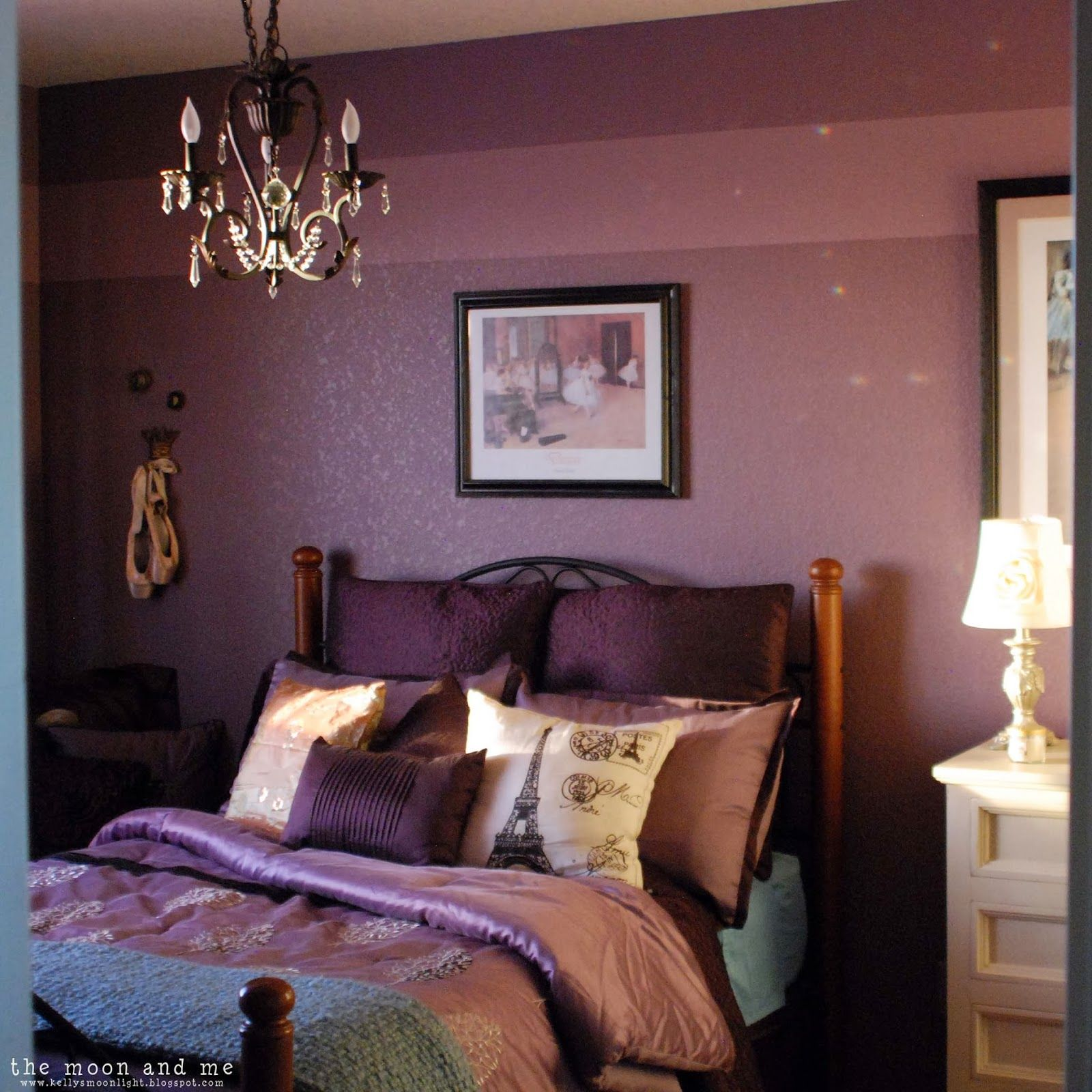 Bedroom Ideas Plum the moon and me: sara's purple palace ~ the secret project »» a