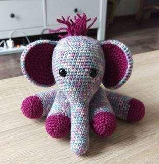 Makerist - Elefant - 1 #dollhats