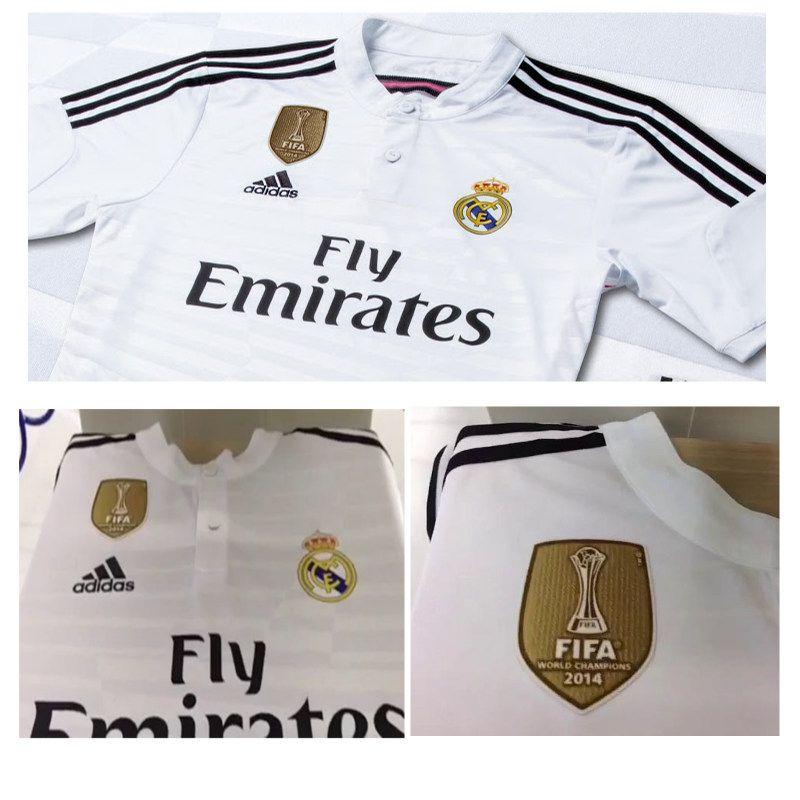 Real Madrid Kits Gold Fifa Club World Cup Badge