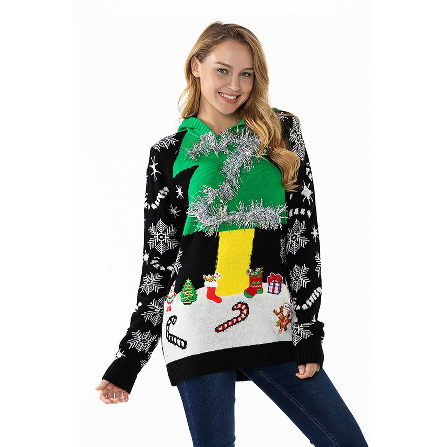 21d2272afae7b Ahegao men women ugly christmas sweater 3d printed graphic pullover ...