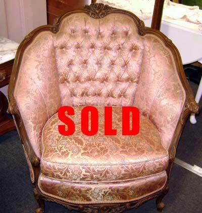 Exceptionnel Angelus Furniture Company Antique Set In Original Codition. EV: $2,500