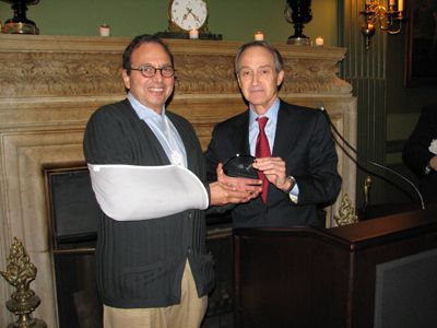 Honoree Douglas Durst And Nylcv Chair Bob Hallman Black Tie Style Organization