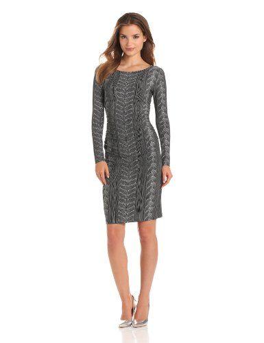 KAMALIKULTURE Women's Long Sleeve Shirred Waist