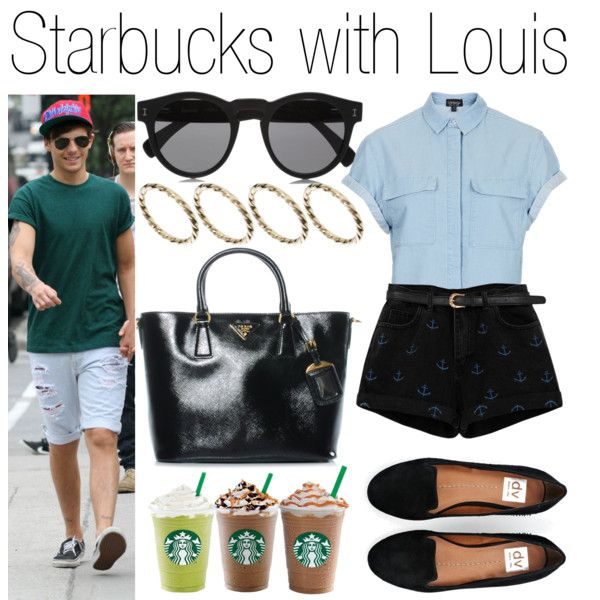 Starbucks with Louis