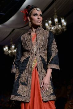 Aamby Valley India Bridal Fashion Week, 2013 | A model showcases a creation by Raghavendra Rathore | PHOTO: Ramesh Sharma India Today |