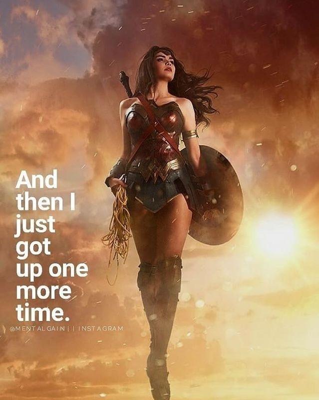 Y Luego Me Levante Una Vez Mas Wonder Woman Quotes Woman Quotes Wonder Woman