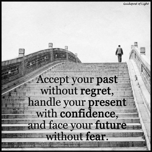 Accept Your Past Without Regret Regret Quotes Image Quotes Future Quotes