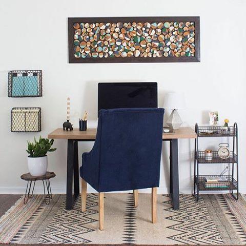 18 tolle Ideen, wie Du Dein Büro zuhause schön gestalten kannst ...