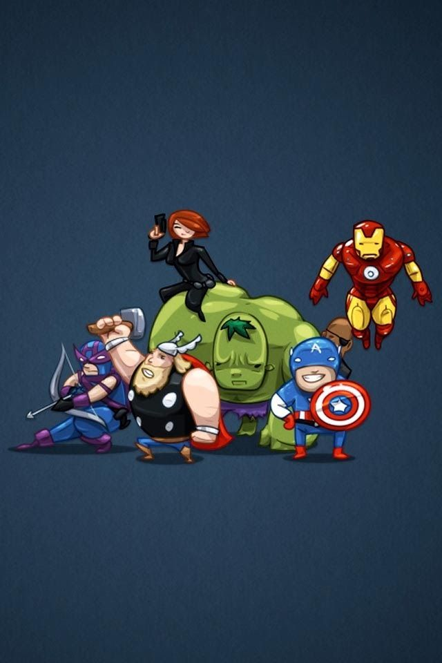 Pin De Rosalba Fregoso En Wallpaper T Shirt Designs Wallpaper Marvel Avengers Animados Magnificos Baby avengers cartoon wallpaper hd