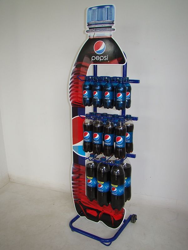 trade marketing tools for pepsico  by  display power on