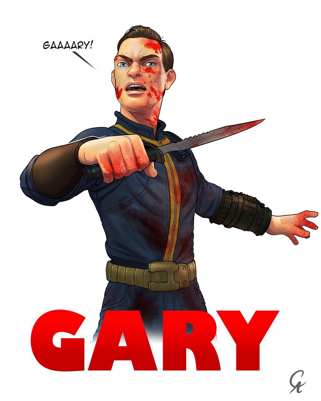 gary fallout 3 by cameronaugust fallout pinterest fallout