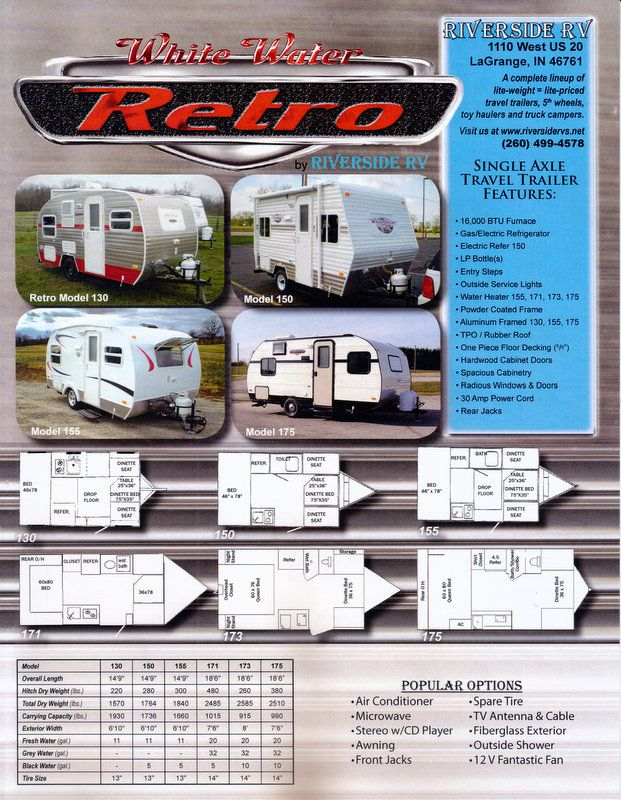 Whitewater Retro 155 Pricing White Water Retro Travel Trailers Vintage Travel Trailers Travel Trailer Retro Travel Trailers